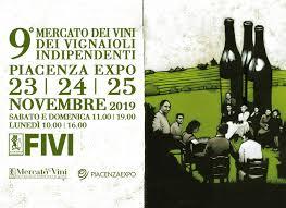 FIVI 2019 PIACENZA EXPO MERCATO DEI VINI E VIGNAIOLI INDIPENDENTI